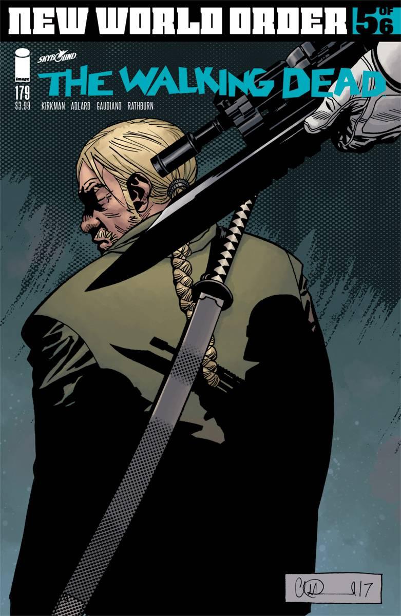 Walking Dead #179 CVR A Adlard