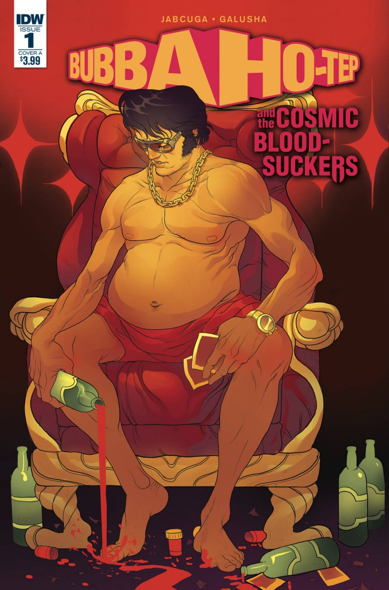 Bubba Ho-Tep and Cosmic Blood-Suckers #1 CVR A Rivas