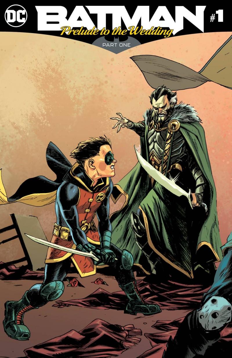 Batman Prelude to the Wedding Robin Vs Ras Al Ghul