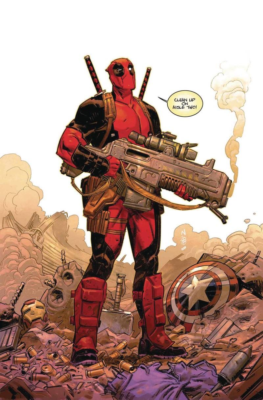 Deadpool V6 #1