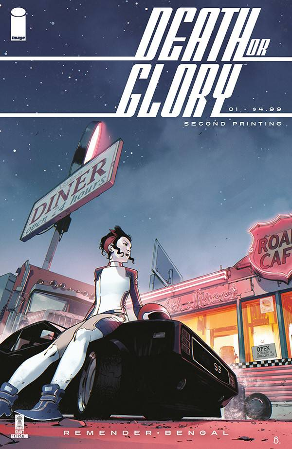 Death or Glory #1 Second Printing