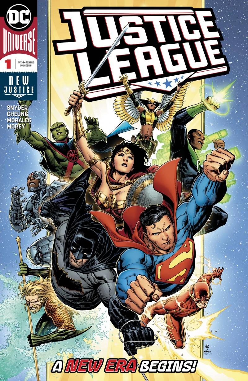 Justice League  #1 CVR A