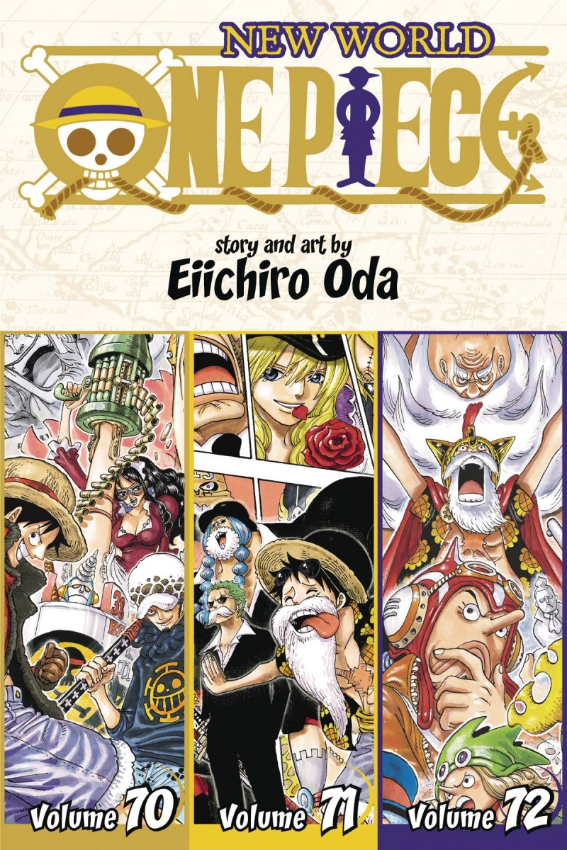 One Piece GN 3-in-1