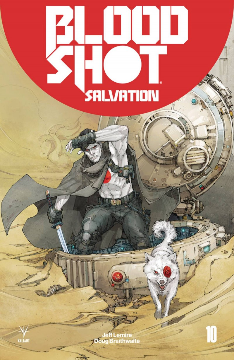 Bloodshot Salvation #10 CVR A Rocafort