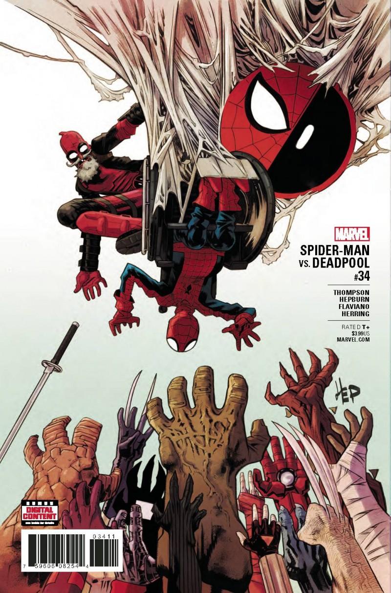 Spider-Man Deadpool #34
