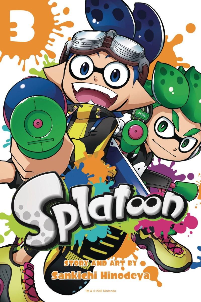 Splatoon Manga GN V3