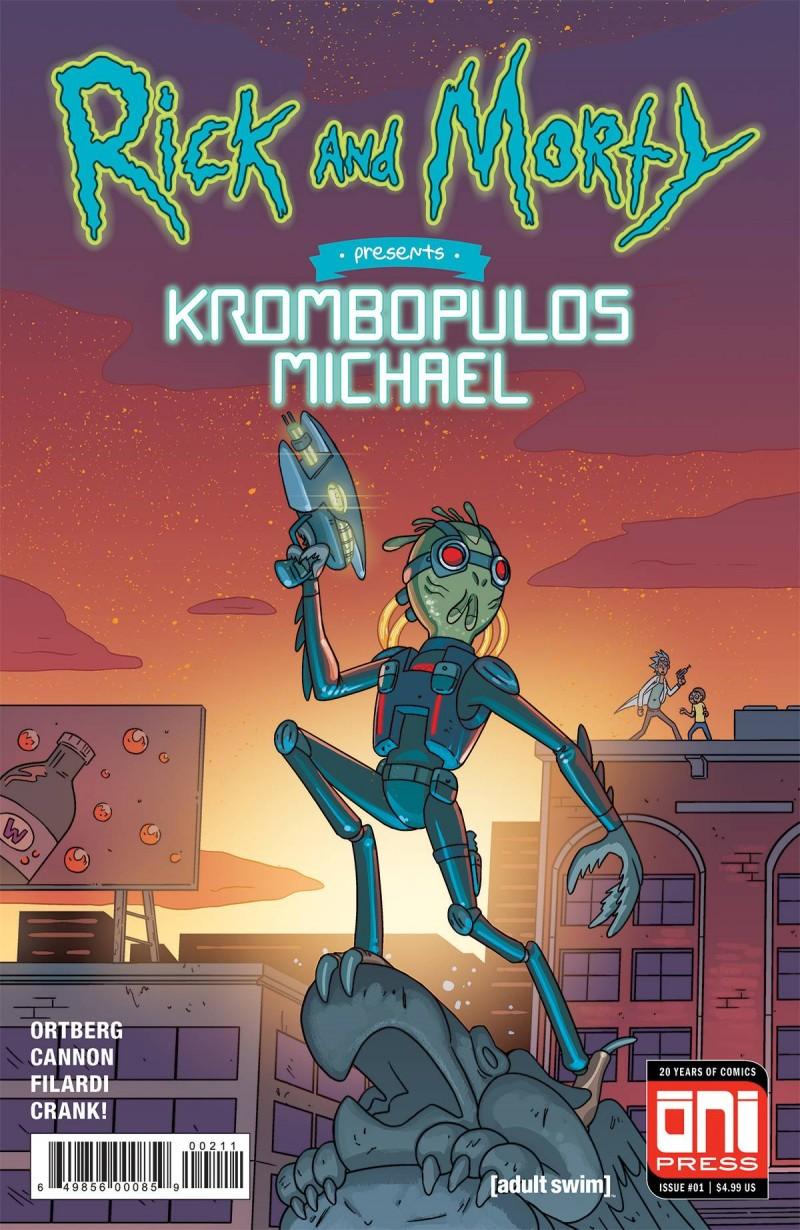 Rick and Morty One-Shot Krombopulous Michael CVR A