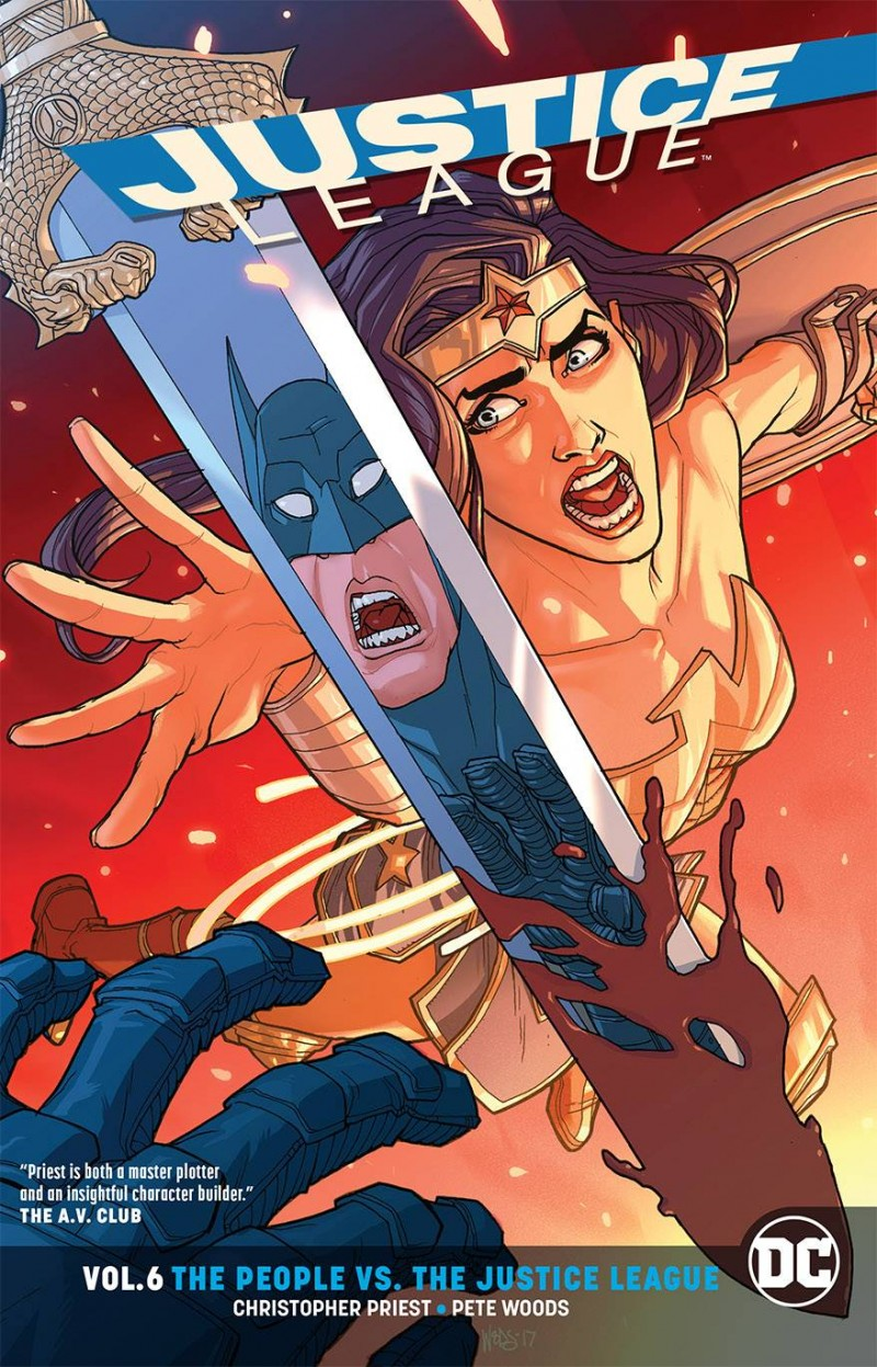 Justice League TP Rebirth V6 People Vs the Justice League