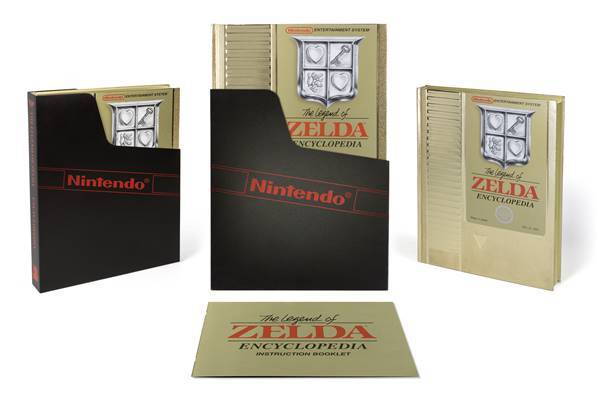 Legend of Zelda HC Encyclopedia Deluxe Edition