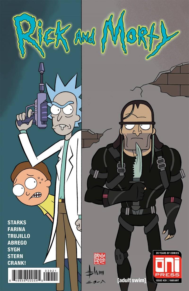 Rick and Morty #39 CVR B