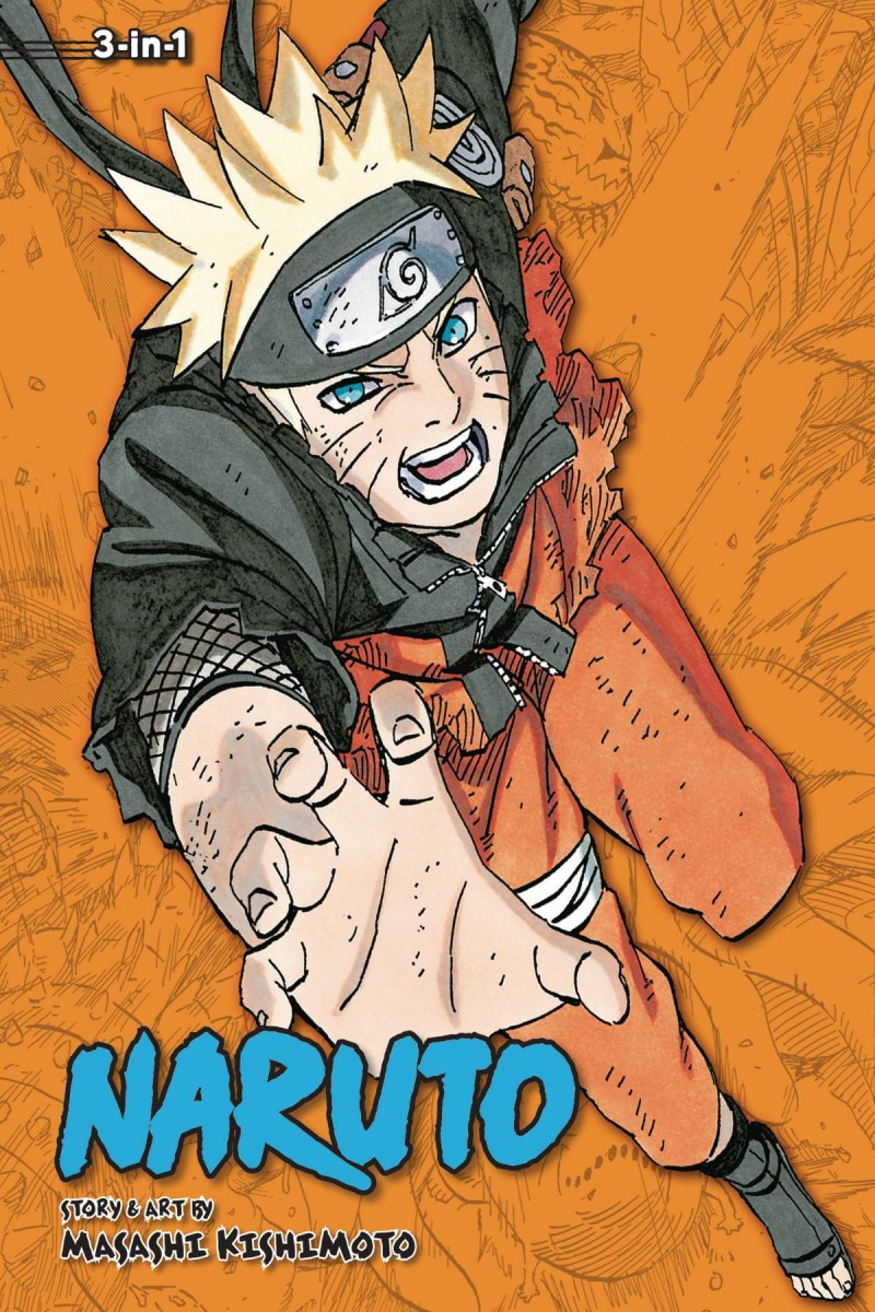 Naruto GN 3-in-1 Edition