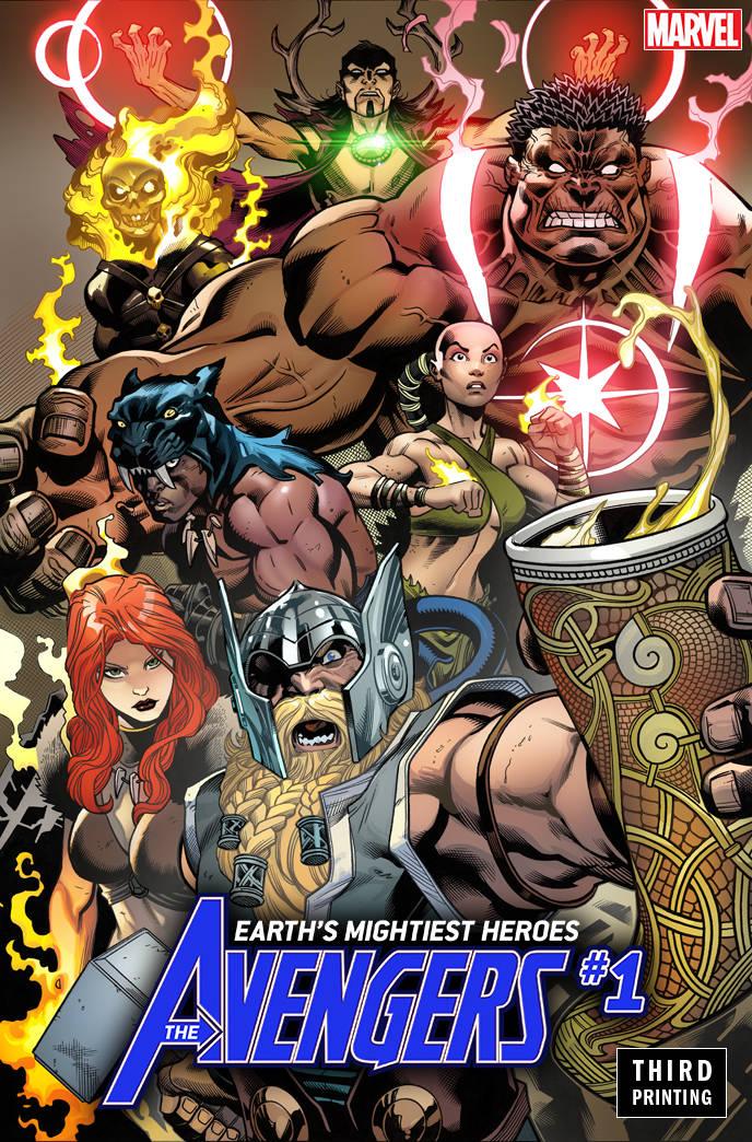 Avengers V7 #1 Third Printing