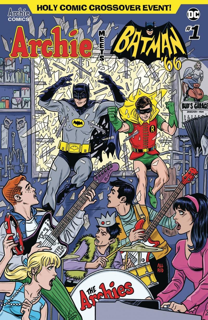 Archie Meets Batman 66 #1 CVR A Allred