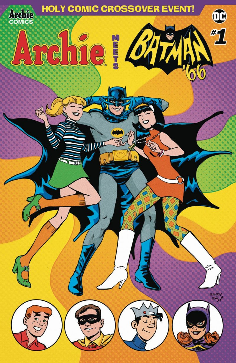 Archie Meets Batman 66 #1 CVR D Jarrell and Fitzpatrick