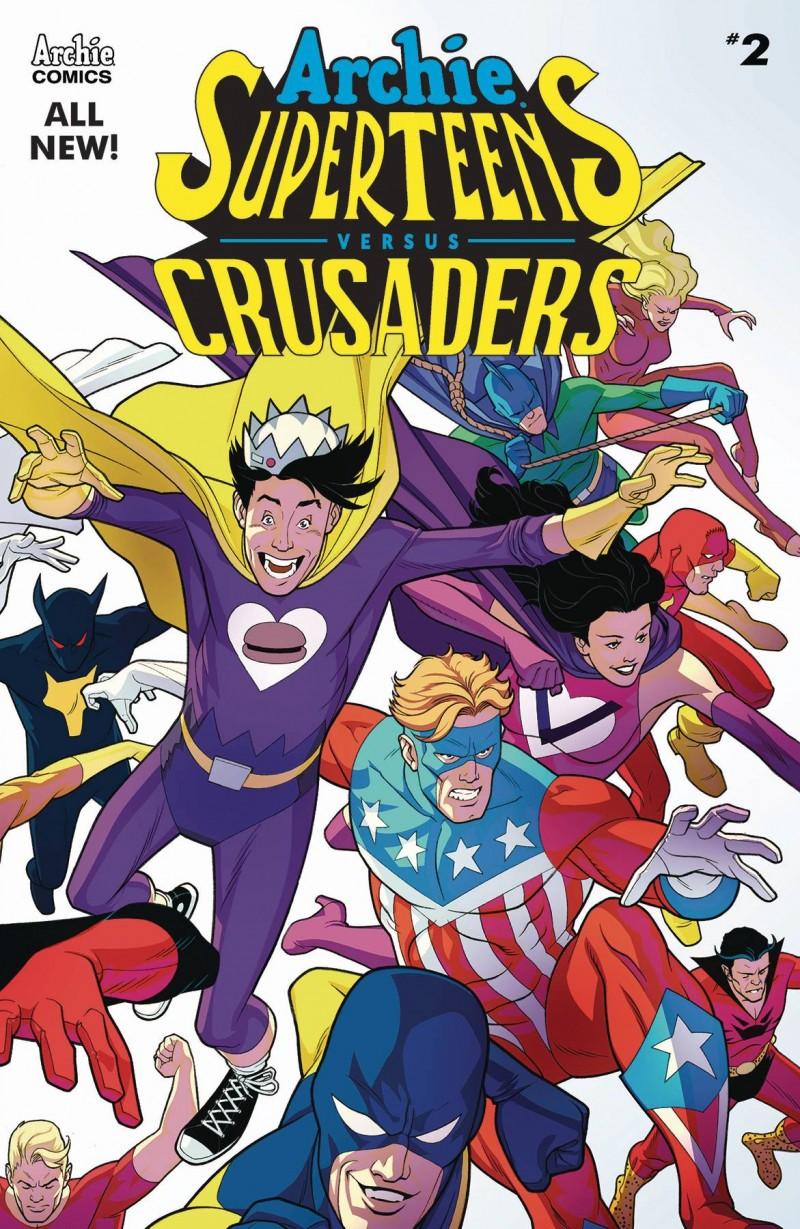 Archies Superteens Vs Crusaders #2