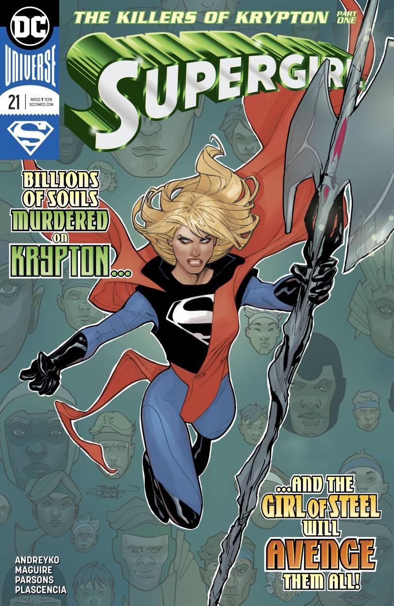Supergirl V7 #21 CVR A