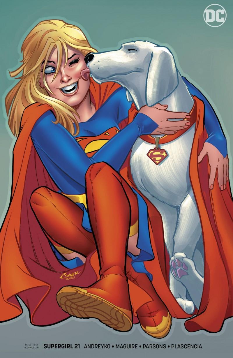 Supergirl  #21 CVR B