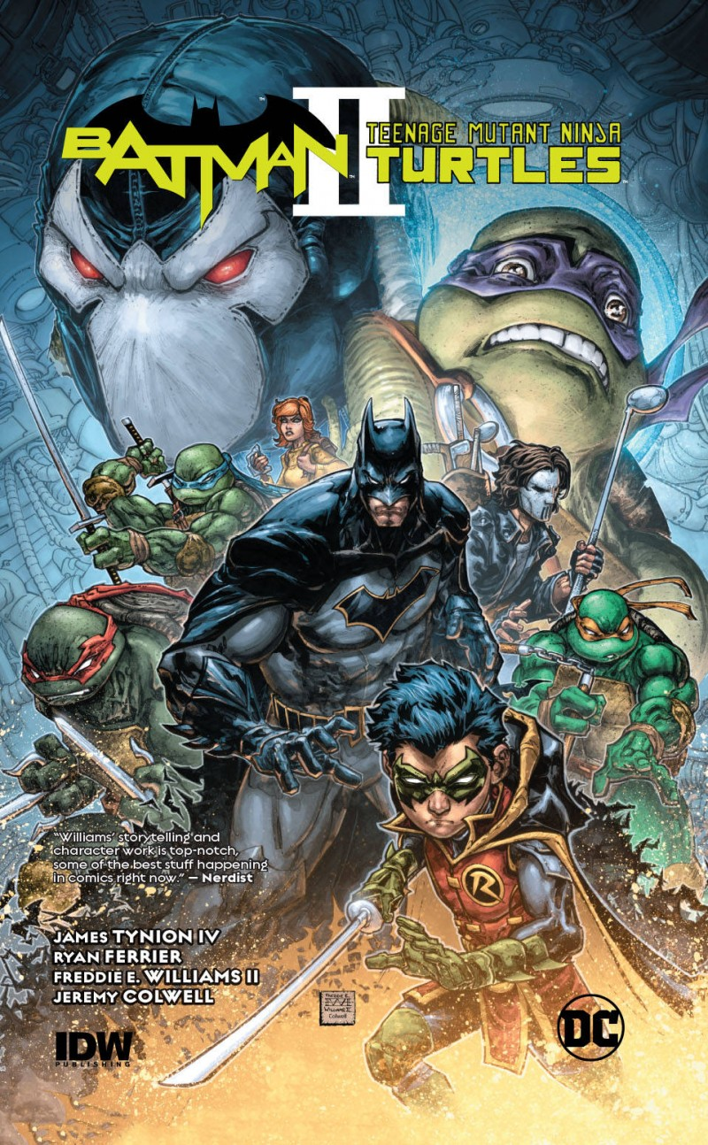 Batman Teenage Mutant Ninja Turtles II HC