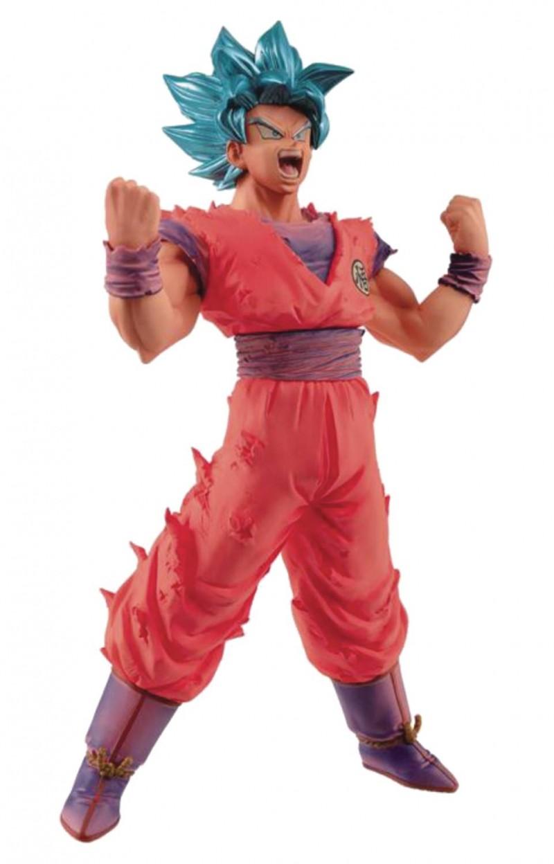 Dragonball Super Blood of Saiyans Figure SS Blue Goku