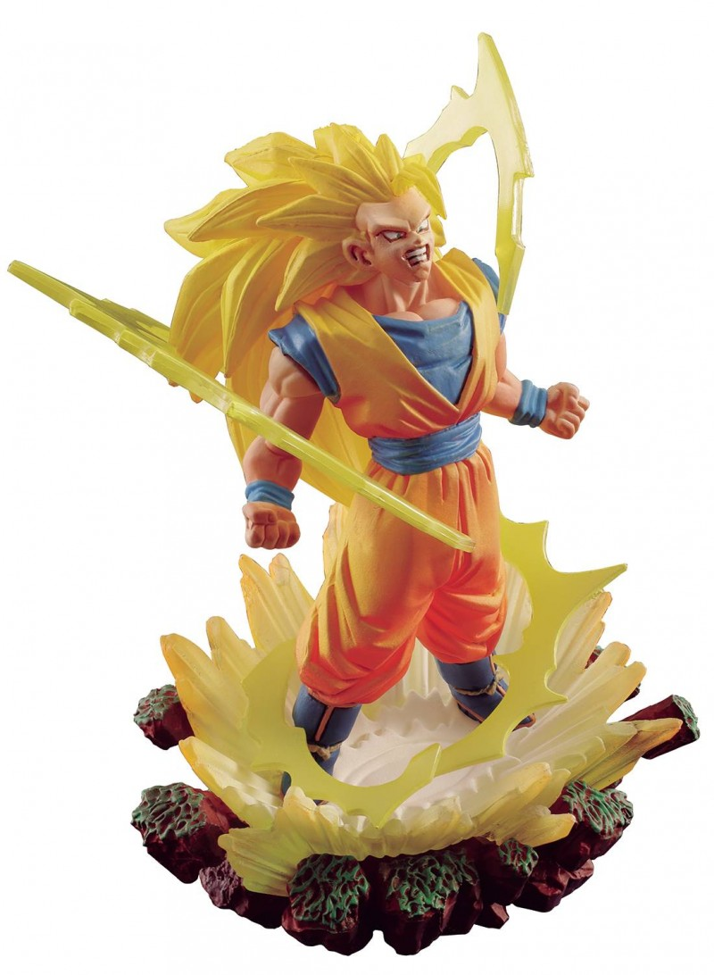 Dragonball Super Statue SS 3 Son Goku Memorial 03