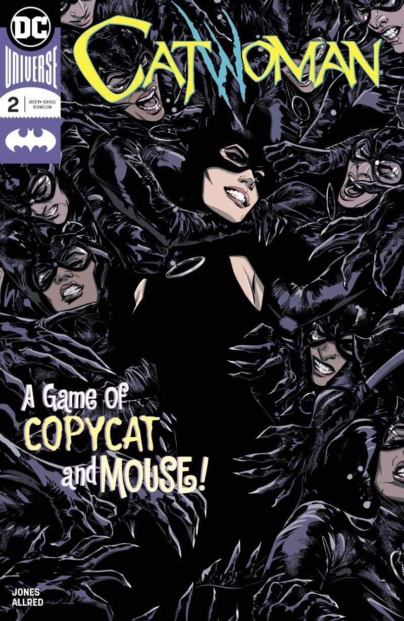 Catwoman V4 #2 CVR A