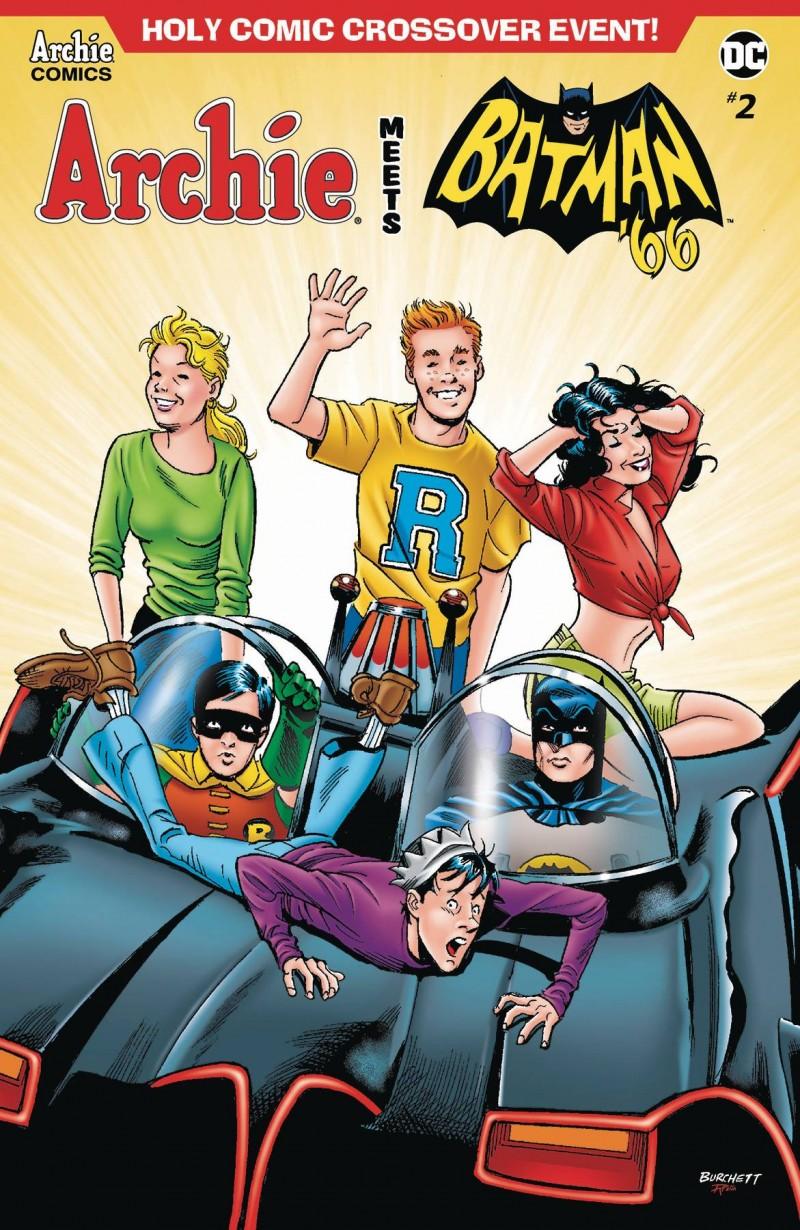 Archie Meets Batman 66 #2 CVR B Burchett