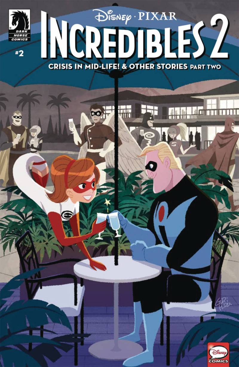 Disney Pixar Incredibles 2 #2 Crisis Midlife CVR A