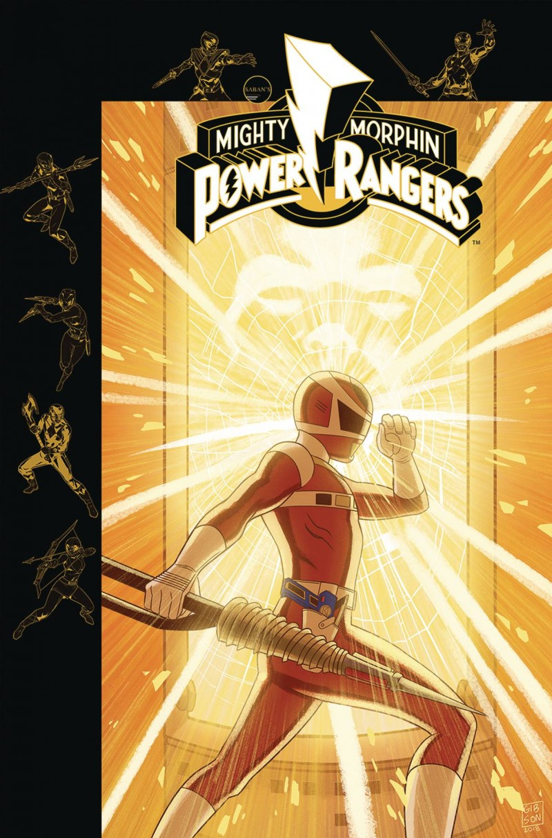 Mighty Morphin Power Rangers #30 CVR B