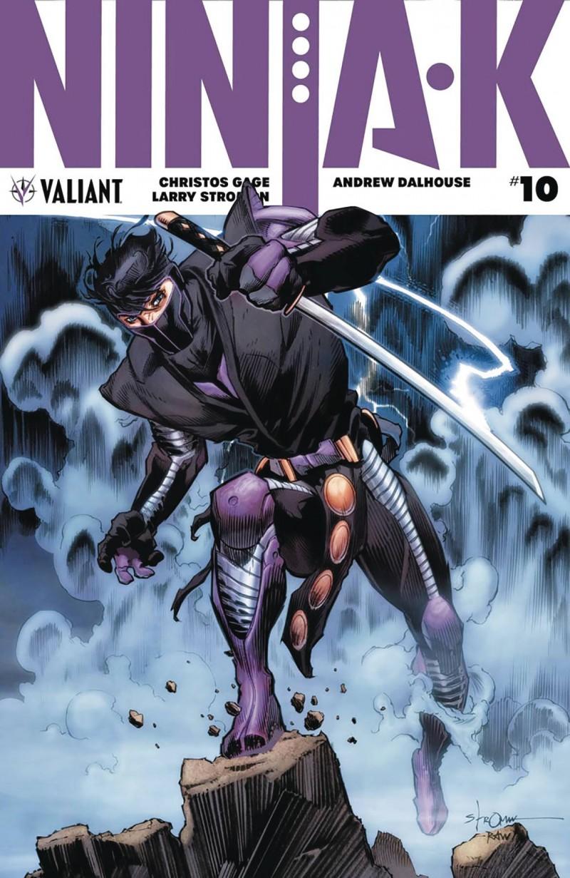 Ninja-K #10 CVR B Stroman