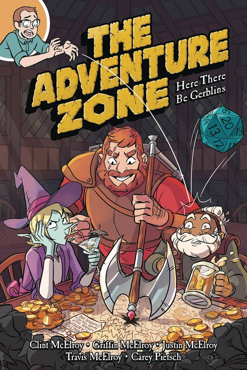 Adventure Zone GN  Here There Be Gerblins