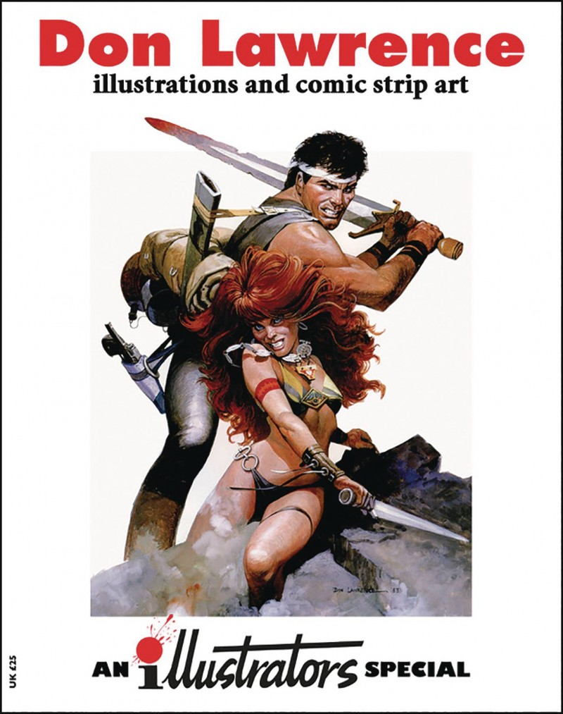 Illustrators Special #3 Art of Don Lawrence