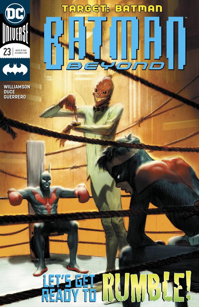 Batman Beyond V6 #23 CVR A