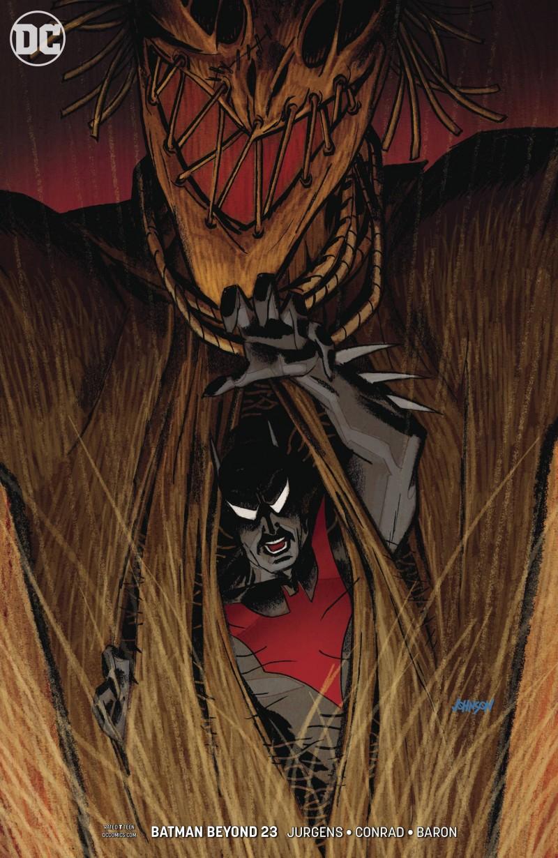 Batman Beyond  #23 CVR B