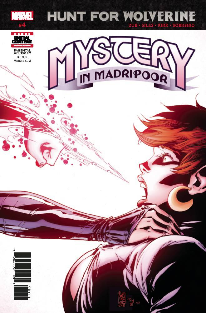 Hunt For Wolverine Mystery Madripoor #4
