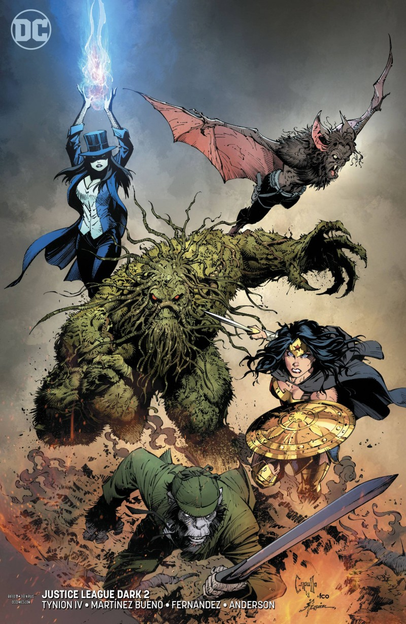Justice League Dark V2 #2 CVR B