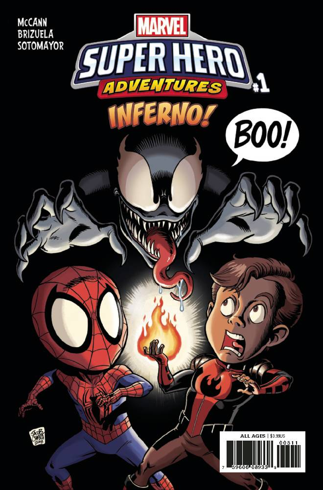 Marvel Super Hero Adventures Inferno #1