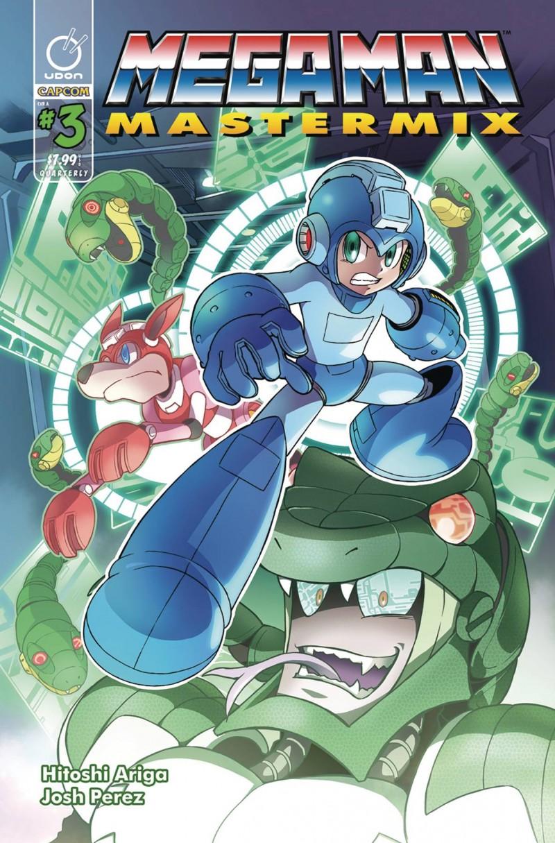 Mega Man Mastermix #3 CVR A Ariga