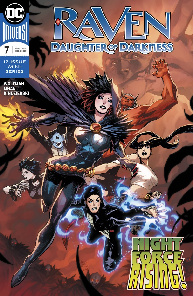 Raven Daughter of Darkness #7