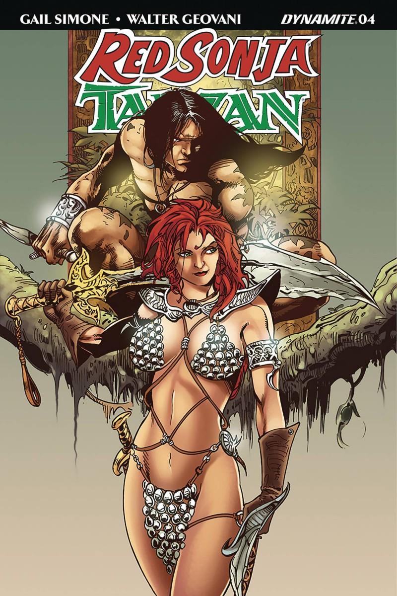 Red Sonja Tarzan #4 CVR D Castro