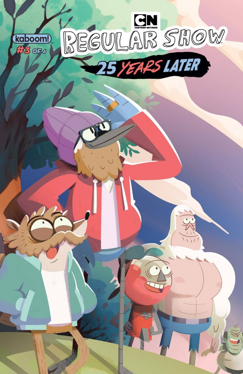 Regular Show 25 Years Later #3