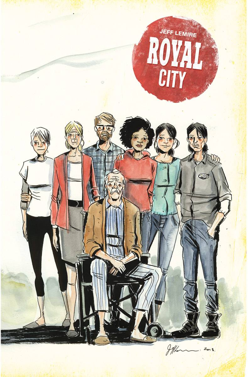 Royal City #14 CVR A Lemire