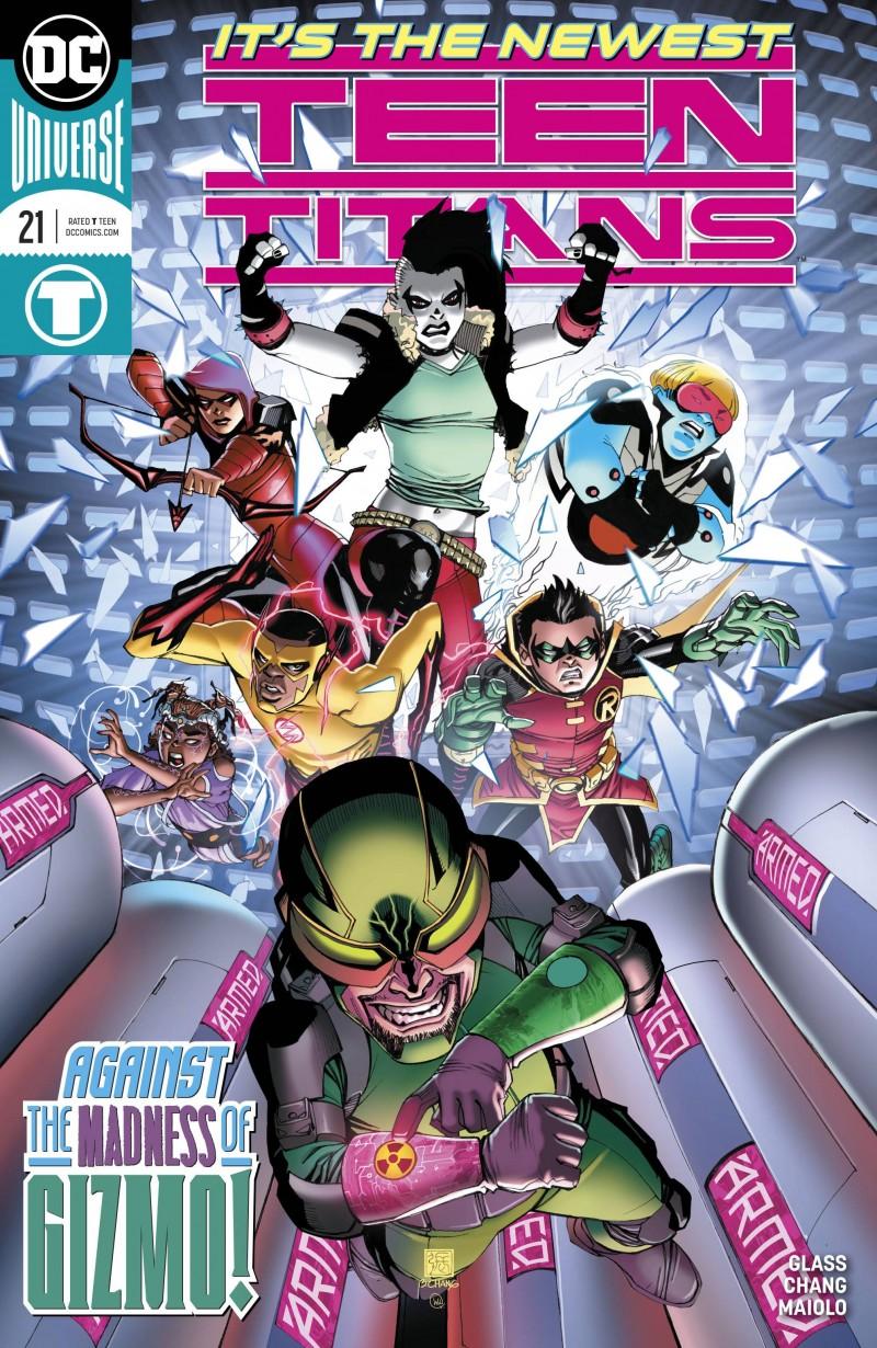 Teen Titans V6 #21 CVR A
