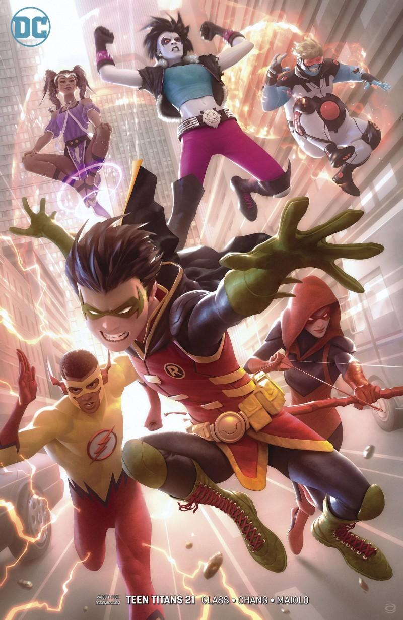 Teen Titans V6 #21 CVR B