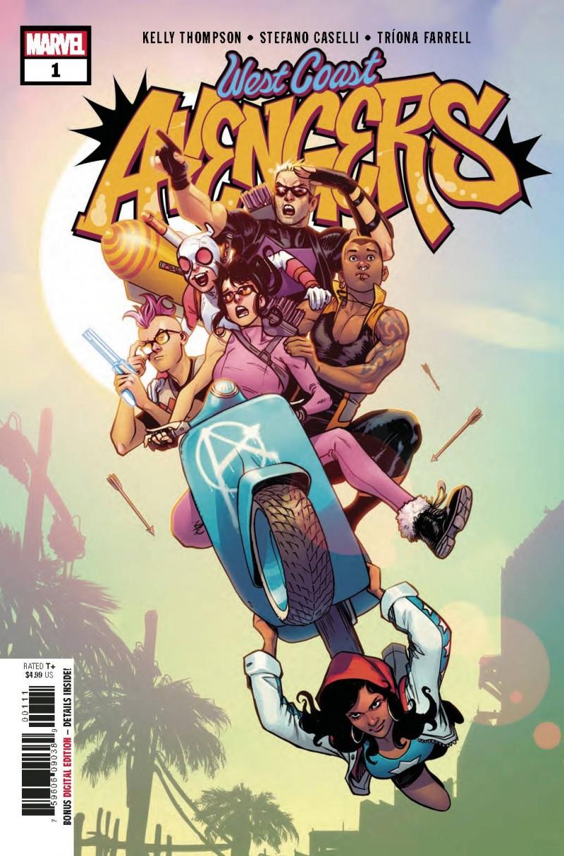 West Coast Avengers V3 #1