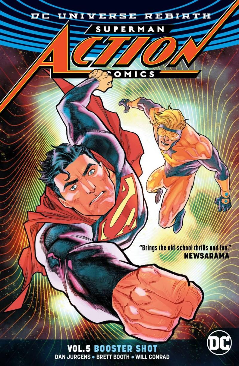 Action Comics TP Rebirth V5 Booster Shot