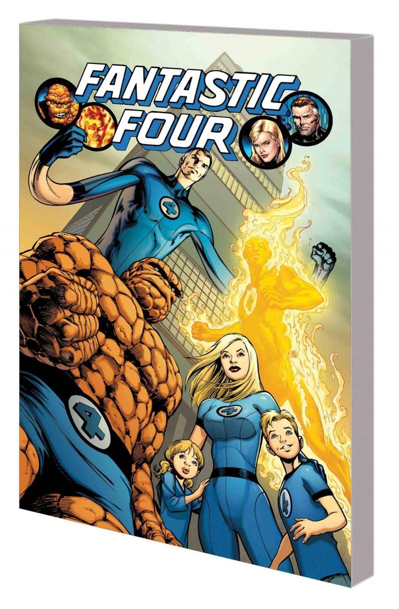Fantastic Four TP Hickman Complete Collection V1