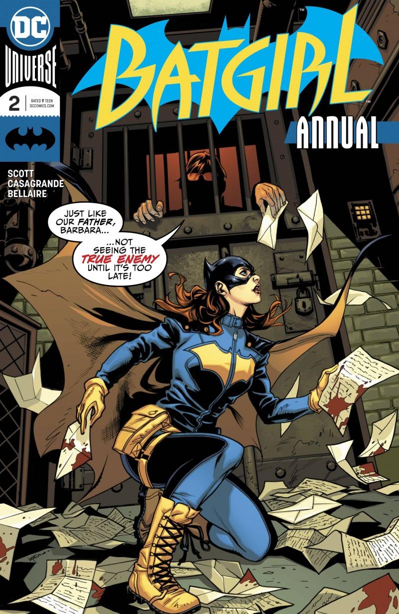 Batgirl V5 Annual #2