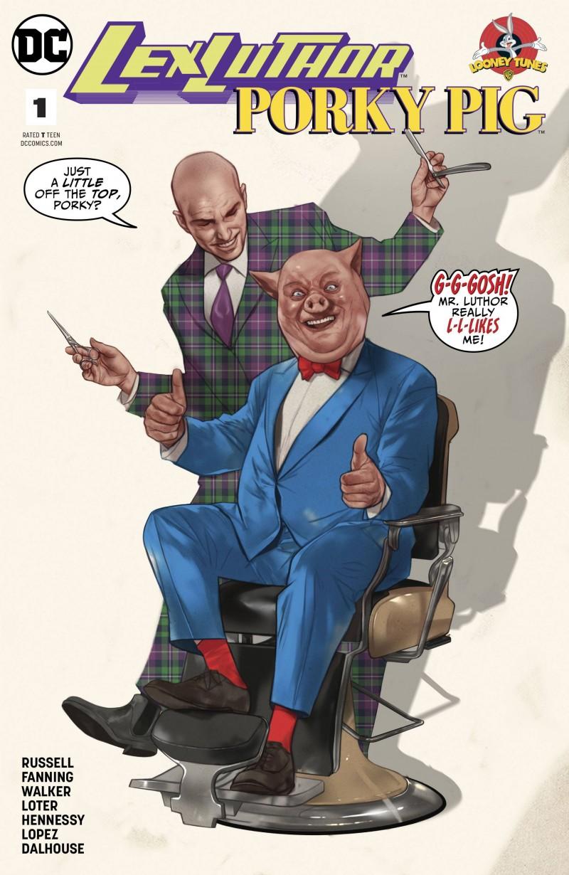 Lex Luthor Porky Pig Special CVR A