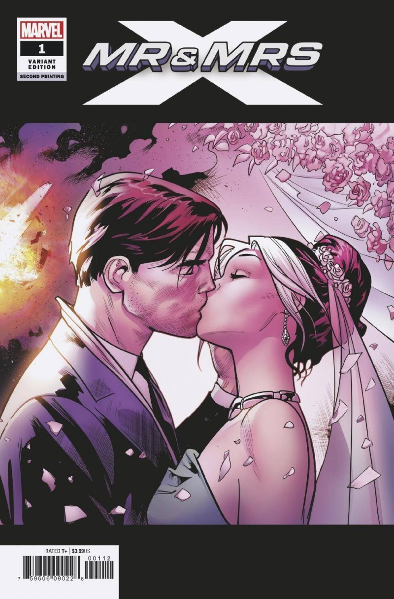 Mr and Mrs X #1 Second Printing