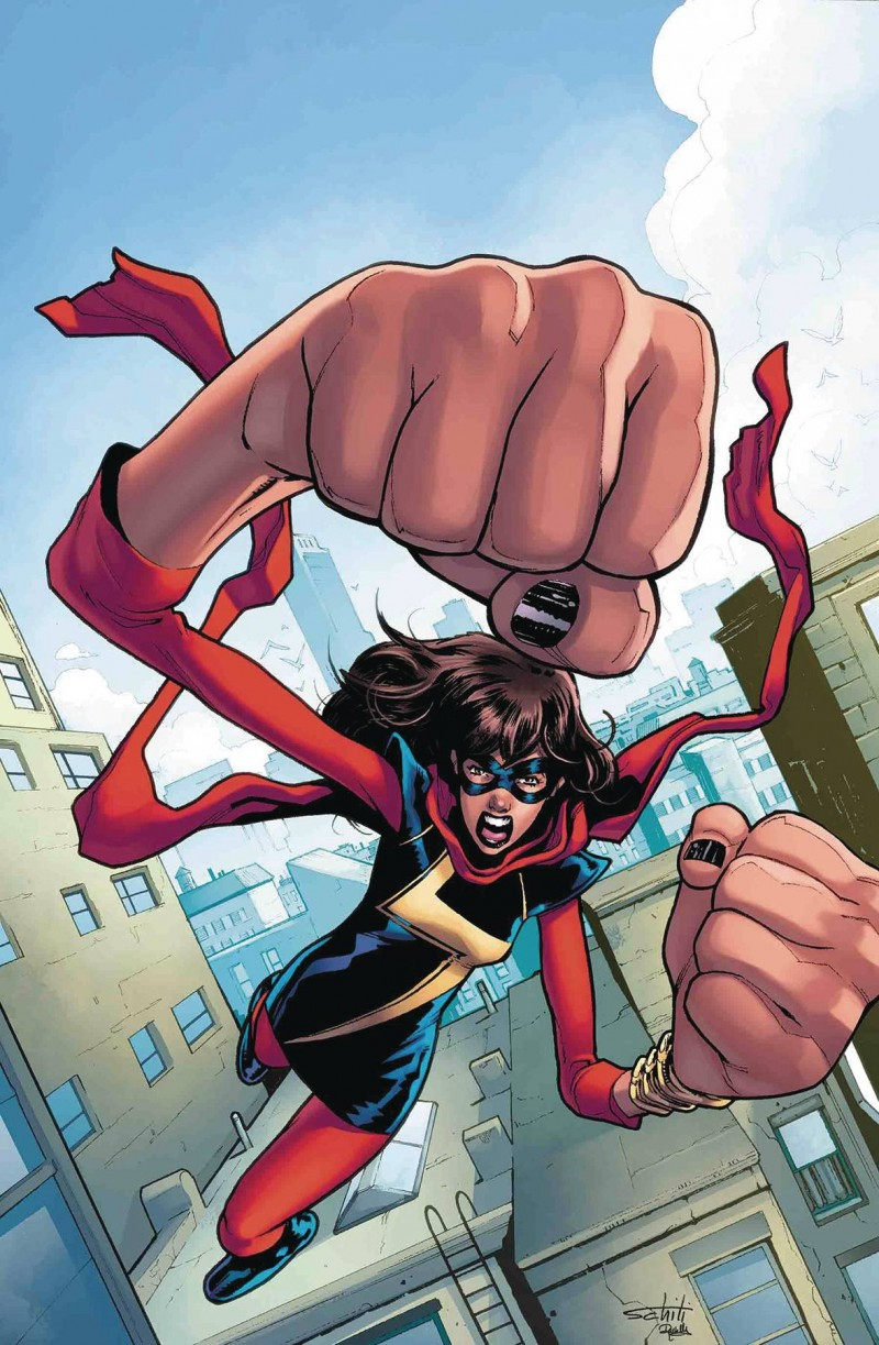 Ms Marvel V4 #33